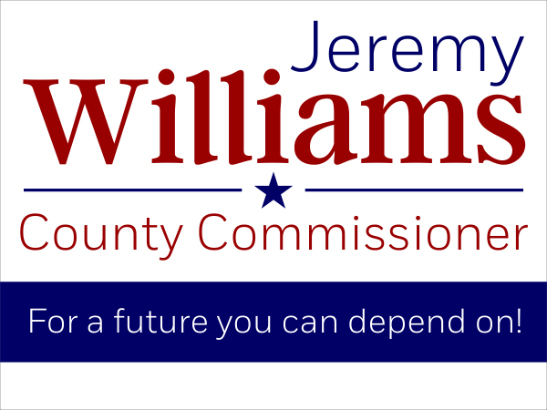 Williams Election Sign