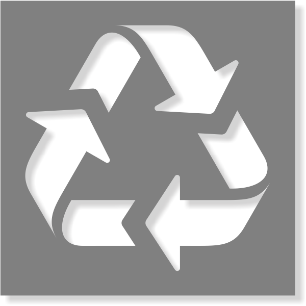 Recycle Stencil | Multiple Sizes