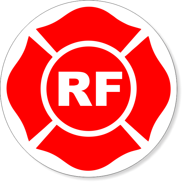 "(RF) 9"" Round Floor Truss Construction Decal"