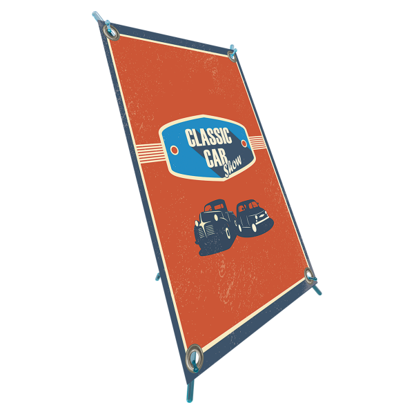 X-Frame Table Top Banner Stand