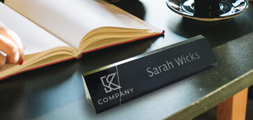 Custom Marble Desk Name Plate