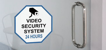 Video Surveillance Decal
