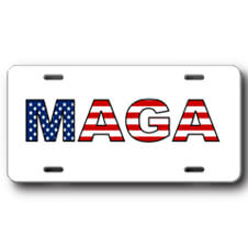 MAGA Front License Plate