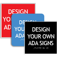 Square ADA Signs