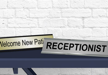 Receptionist & New Patients Plates