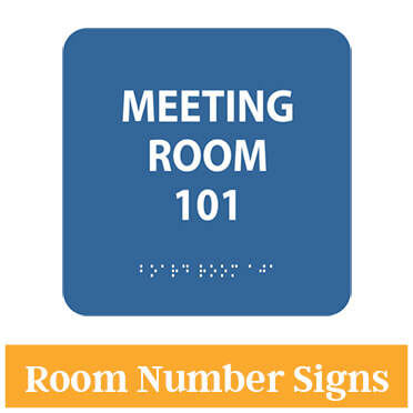 Meeting Room Braille Sign
